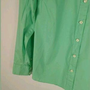 J. Crew Tops - J Crew seafoam stretch classic button down shirt